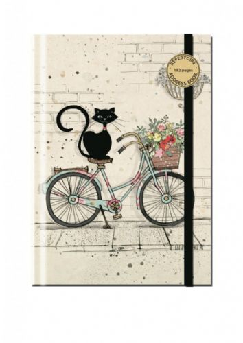 Bug Art Collection Bike Cat A5 Address Book Pad